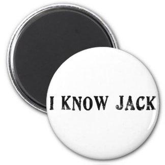 I Know Jack 6 Cm Round Magnet