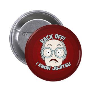 I Know Jujitsu! 6 Cm Round Badge