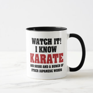 I Know Karate! And Sushi And Other Japanese Words Mug