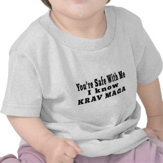 I know Krav Maga Shirts