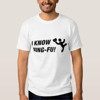 I know kung-fu! (lite) shirt