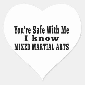 I know Mixed Martial Arts Sticker
