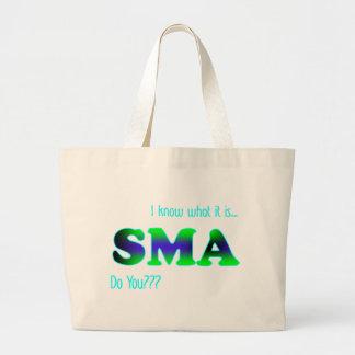 I Know SMA Jumbo Tote Bag