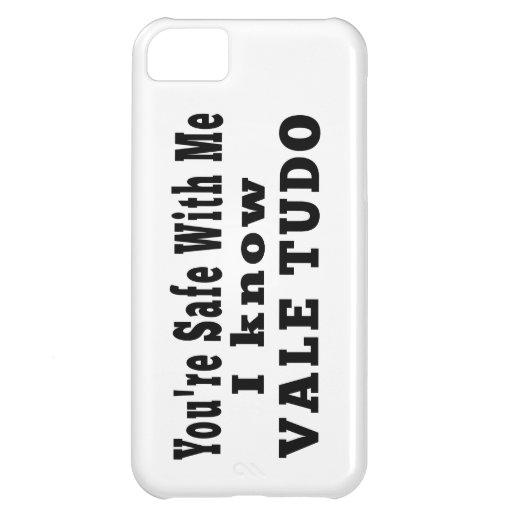 I know Vale Tudo Case For iPhone 5C