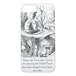 I Know Who I Was When I Got Up iPhone 7 Case