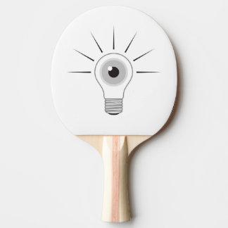 I - LAMP PING PONG PADDLE