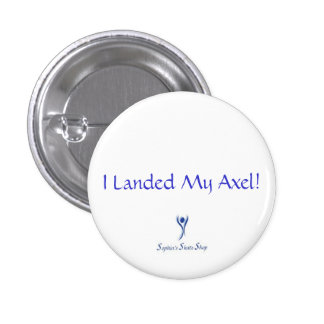 I Landed My Axel! Button