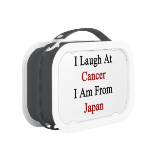 I Laugh At Cancer I Am From Japan Lunchbox