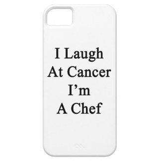 I Laugh At Cancer I'm A Chef iPhone 5 Case