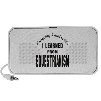 I Learned From Equestrianism. PC Speakers
