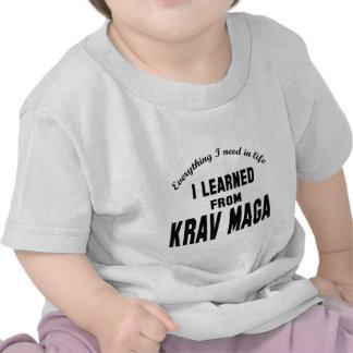 I Learned From Krav Maga. Tees