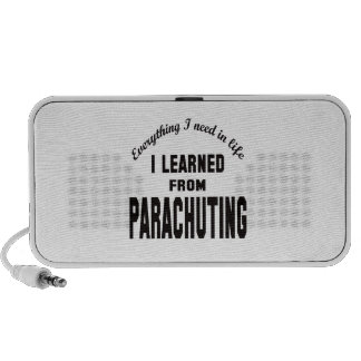 I Learned From Parachuting Portable Speaker