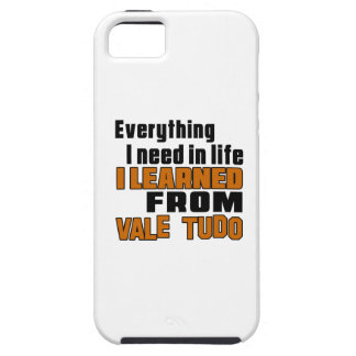 I learned From Vale Tudo iPhone 5 Covers