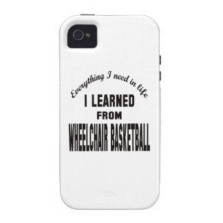I Learned From Wheelchair basketball. iPhone 4/4S Case