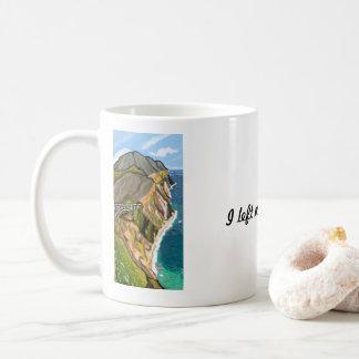 I Left My Heart at Bixby Bridge | Impressionist Coffee Mug
