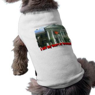 I Left My Heart At Graceland Sleeveless Dog Shirt