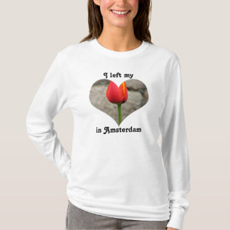 I Left My Heart in Amsterdam Holland Netherlands T-Shirt