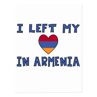 I Left My Heart in Armenia Postcard