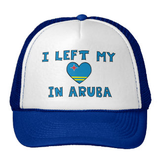 I Left My Heart in Aruba Cap