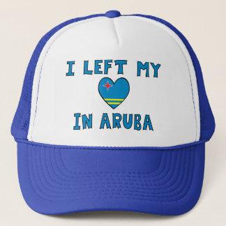 I Left My Heart in Aruba Trucker Hat