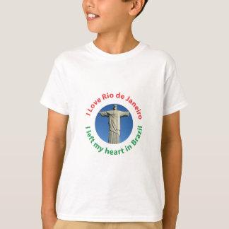 I Left My Heart in Brazil - I Love Rio de Janeiro Tshirts