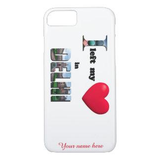 I left my heart in Delhi - Love Gift iPhone 7 Case