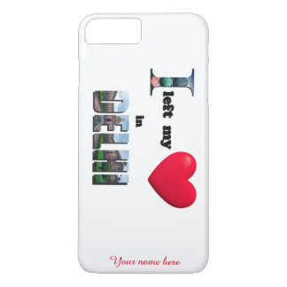I left my heart in Delhi-Love iPhone 7 Plus Case