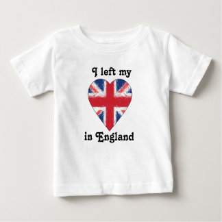 I left my heart in England Tee Shirts
