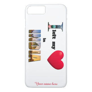 I left my heart in India-Love iPhone 7 Plus Case