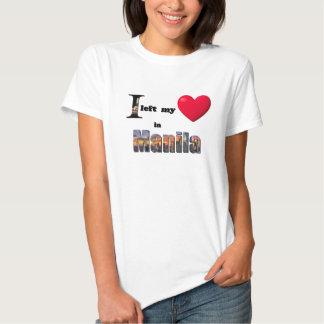 I left my heart in Manila - Love Gift Couple Shirt