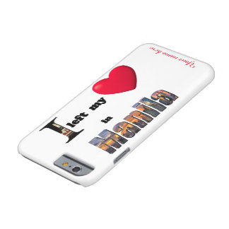 I left my heart in Manila - Love Gift Custom Case Barely There iPhone 6 Case