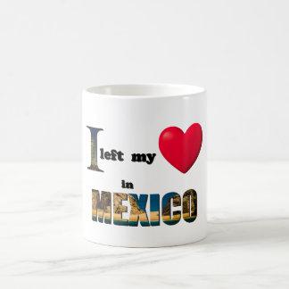 I left my heart in Mexico - Love Gift Mug