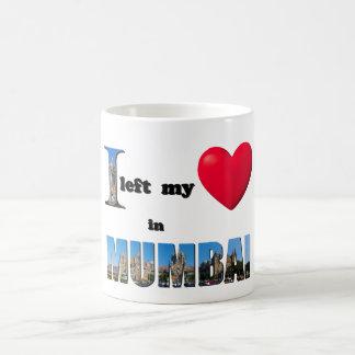 I left my heart in Mumbai - Love Gift Couple Mug