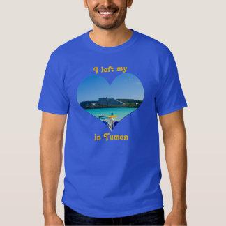 I Left My Heart in Tumon Bay Guam Sea Sand Beach Shirts