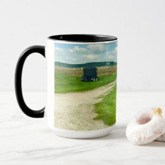 I Left my Heart in Wisconsin Coffee Mug