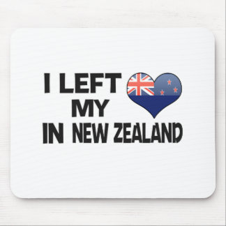 I left my love in New Zealand. Mouse Pad