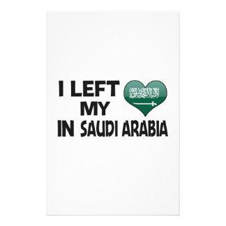 I left my love in Saudi Arabia. Stationery