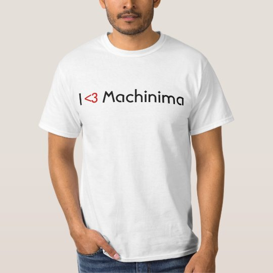 I LESSTHANTHREE Machinima (basic) T-Shirt