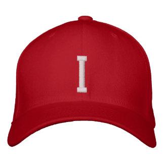 I Letter Embroidered Baseball Caps