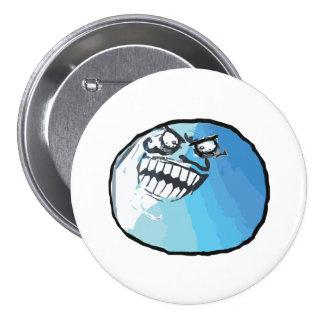 I Lied Rage Face Meme 7.5 Cm Round Badge