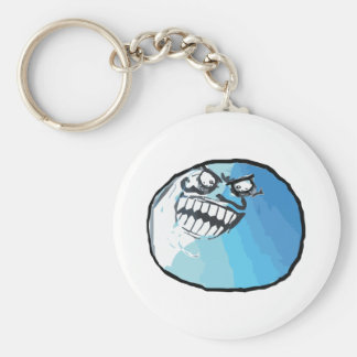 I Lied Rage Face Meme Basic Round Button Key Ring