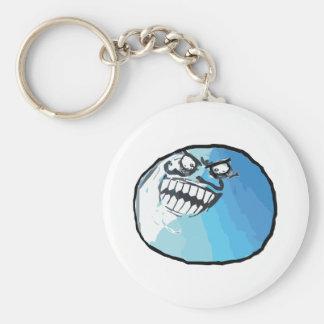 I Lied Rage Face Meme Key Ring