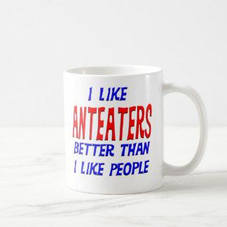 I Like Anteaters Better Than I Like People Mug