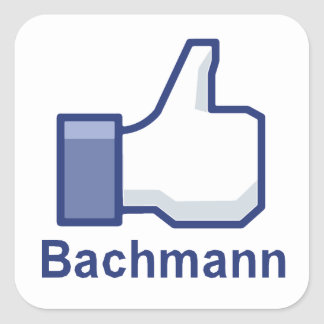 I LIKE BACHMANN SQUARE STICKERS