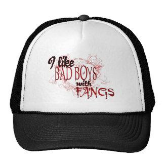 I like Badboys with Fangs Cap