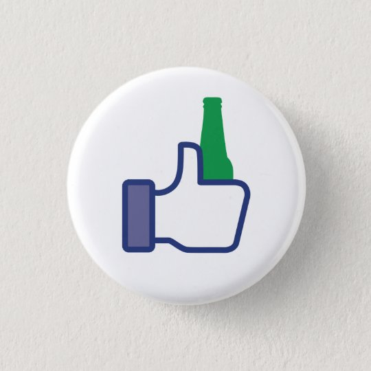 I Like Beer 3 Cm Round Badge
