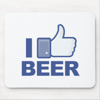 i LIKE beer! Mouse Mat