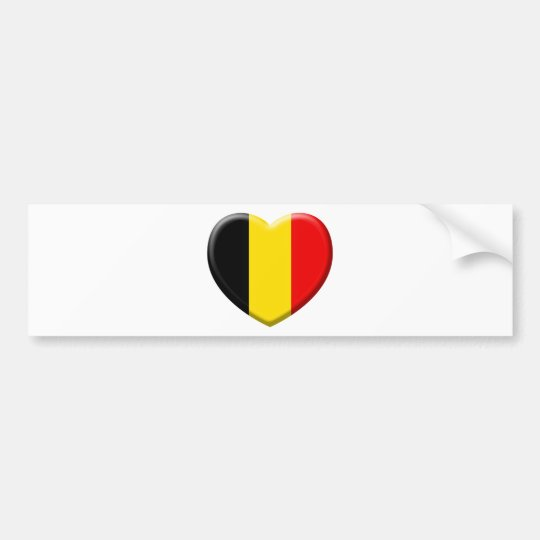 I like Belgium Bumper Sticker