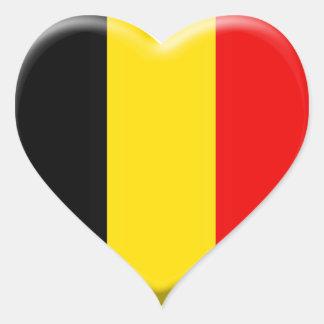 I like Belgium Heart Sticker