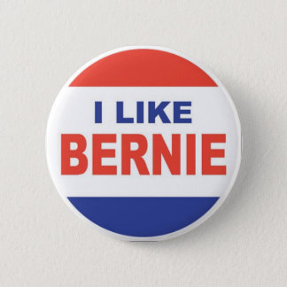I Like Bernie 6 Cm Round Badge